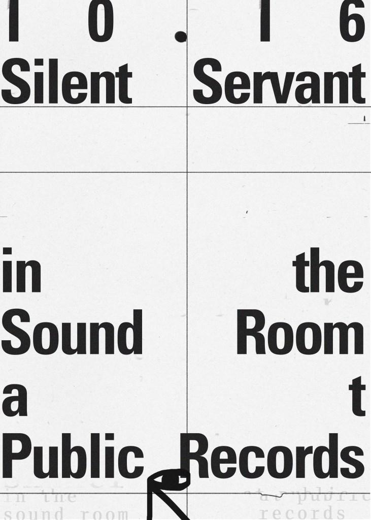 Silent Servant - Flyer front