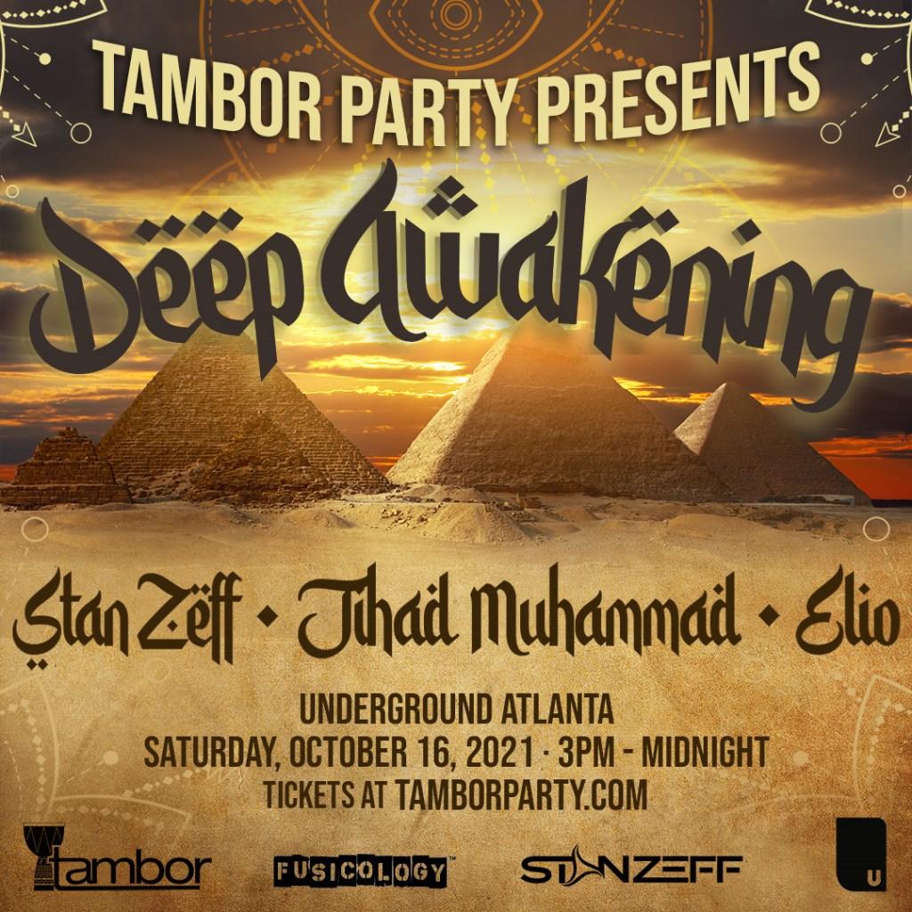 Tambor Party presents: Deep Awakening - Flyer front