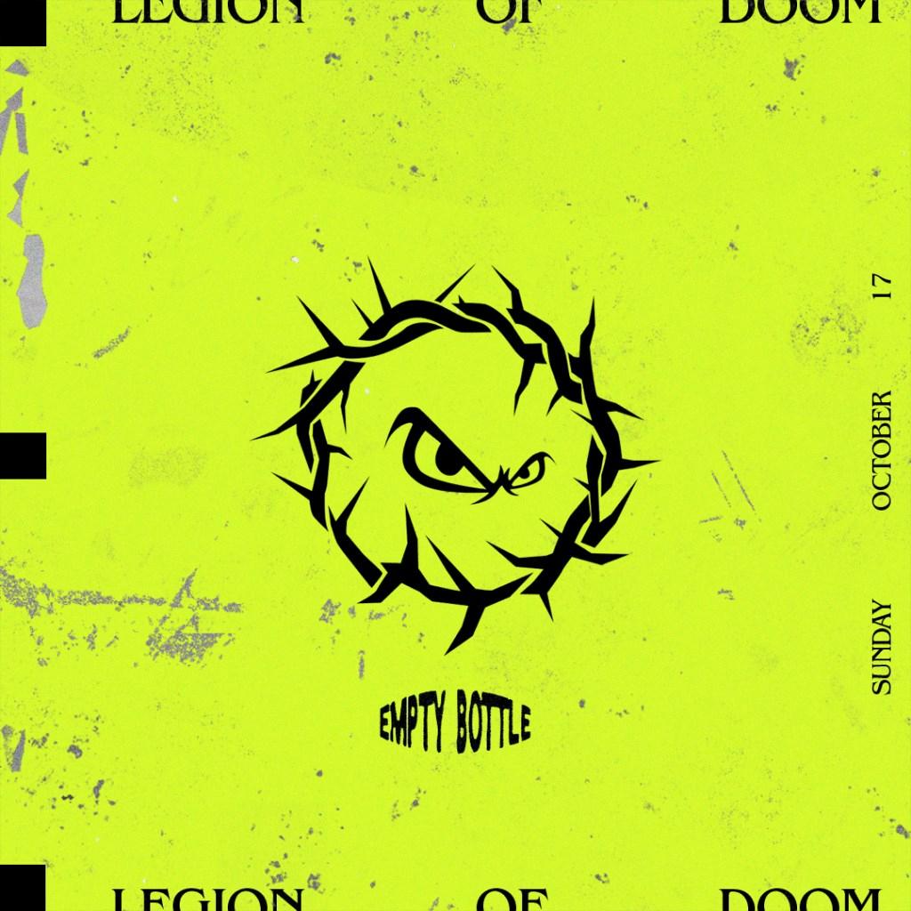 Legion of Doom - Flyer front