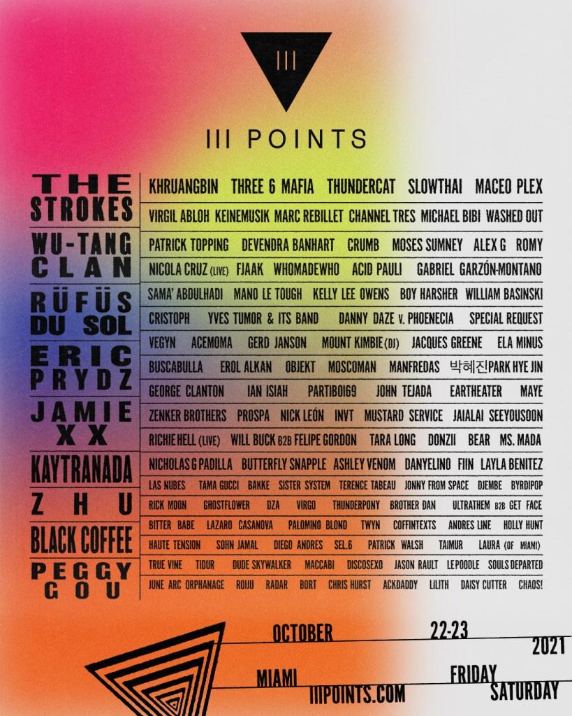 III Points Festival - Flyer front
