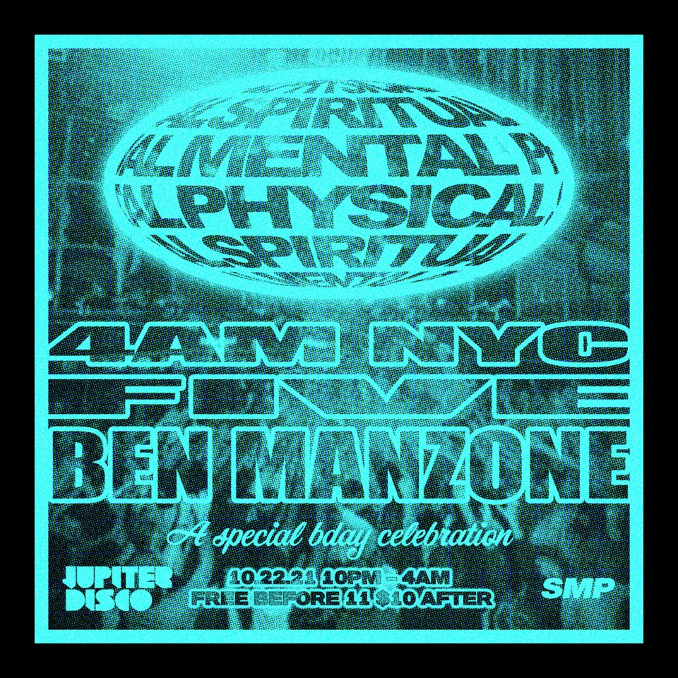 SPIRITUAL MENTAL PHYSICAL - Flyer front