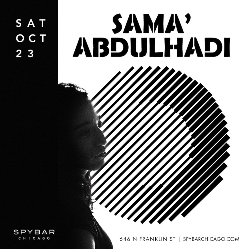 Sama' Abdulhadi - Flyer front