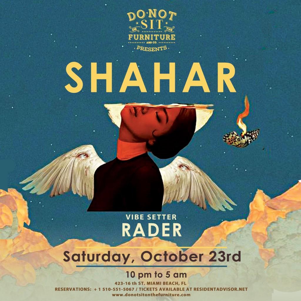 Shahar - Flyer front