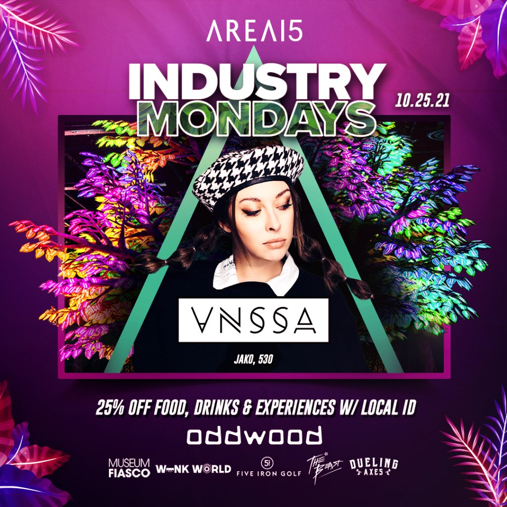Industry Mondays with Vnssa - Flyer front