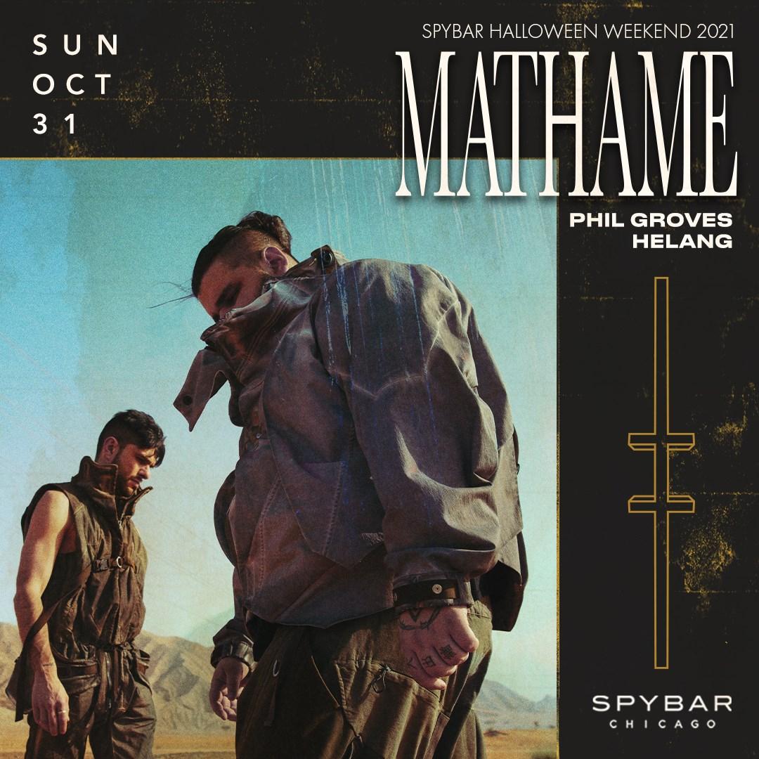 Mathame - Flyer front