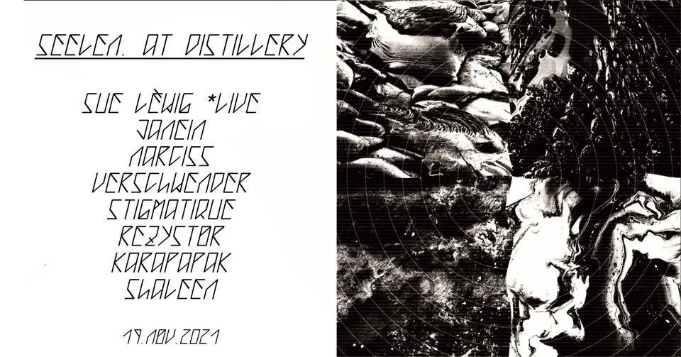 Seelen. Records @Distillery - Flyer back