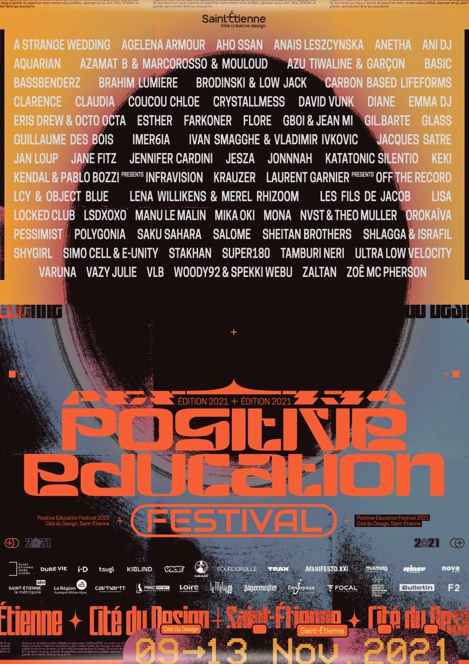 Positive Education Festival #5 - Flyer front