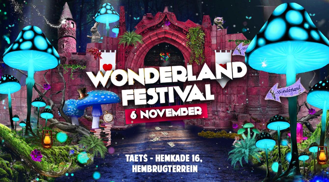 Wonderland Festival - Flyer front
