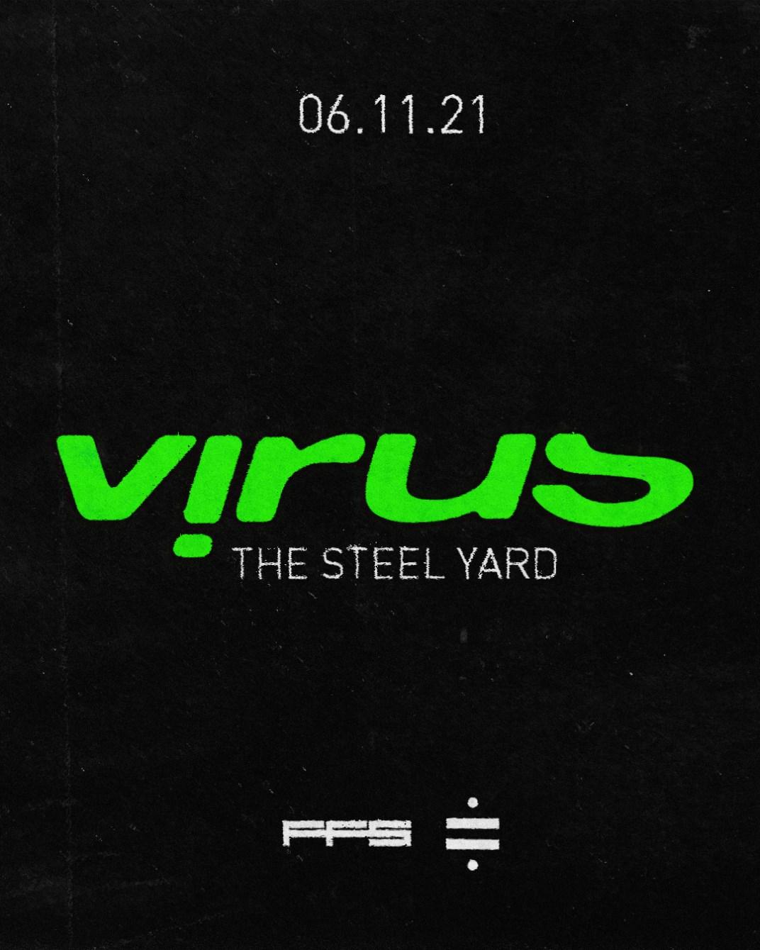 Virus Recordings –London - Flyer back