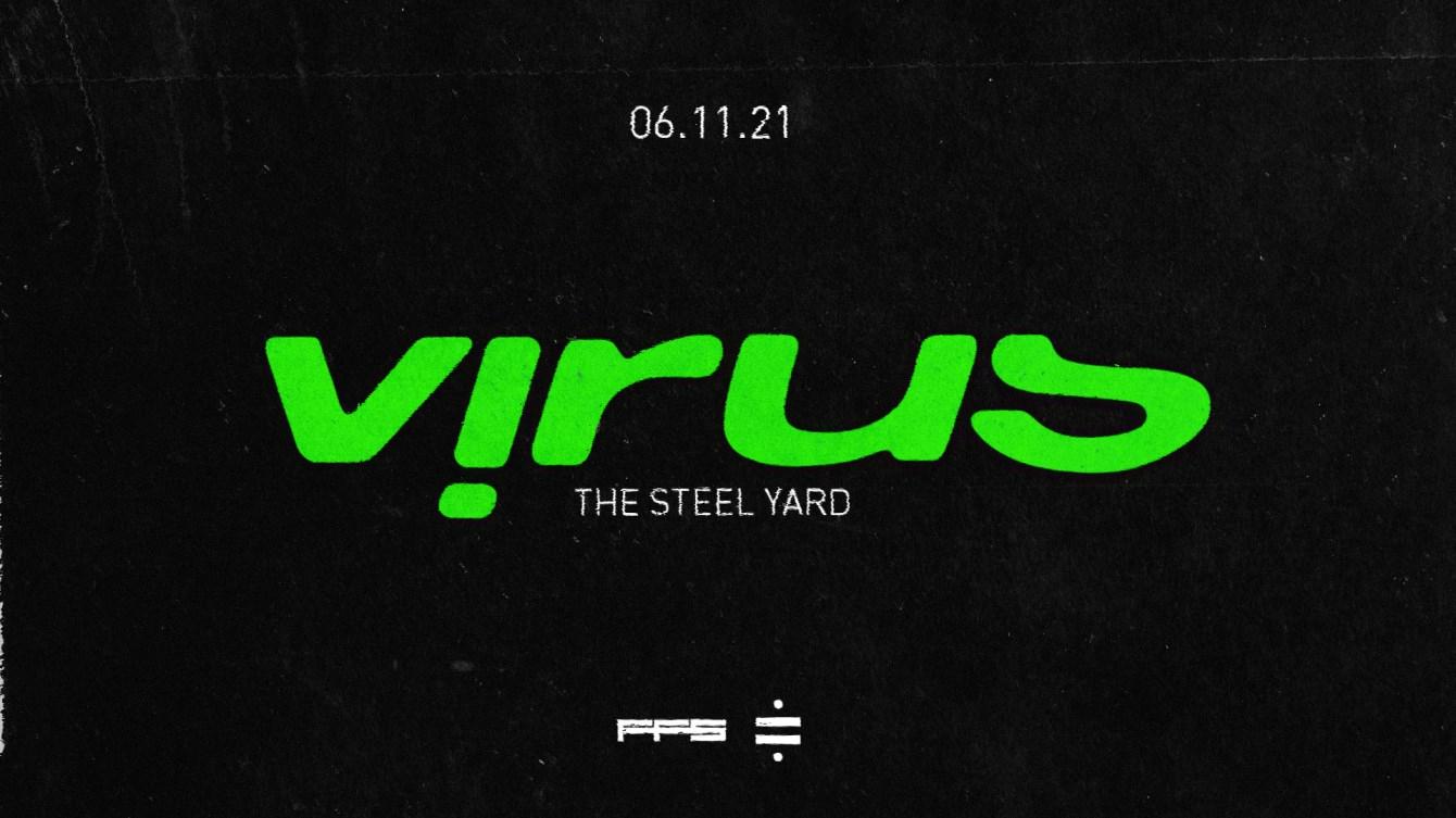 Virus Recordings –London - Flyer front
