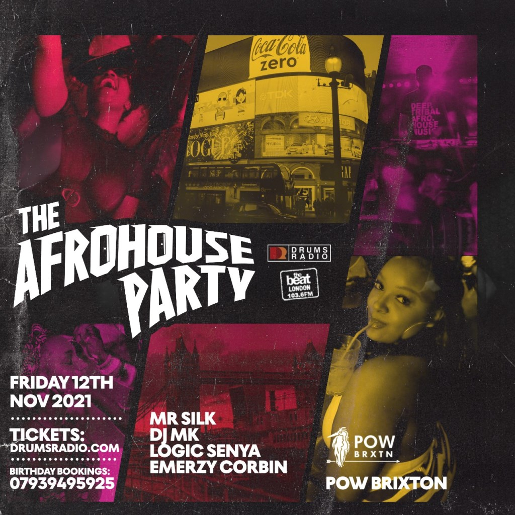 The Afrohouse Party - Flyer front