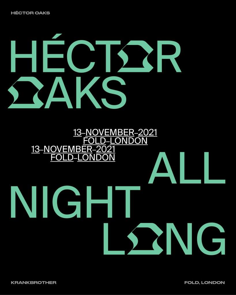 krankbrother presents: Héctor Oaks All Night Long - Flyer front