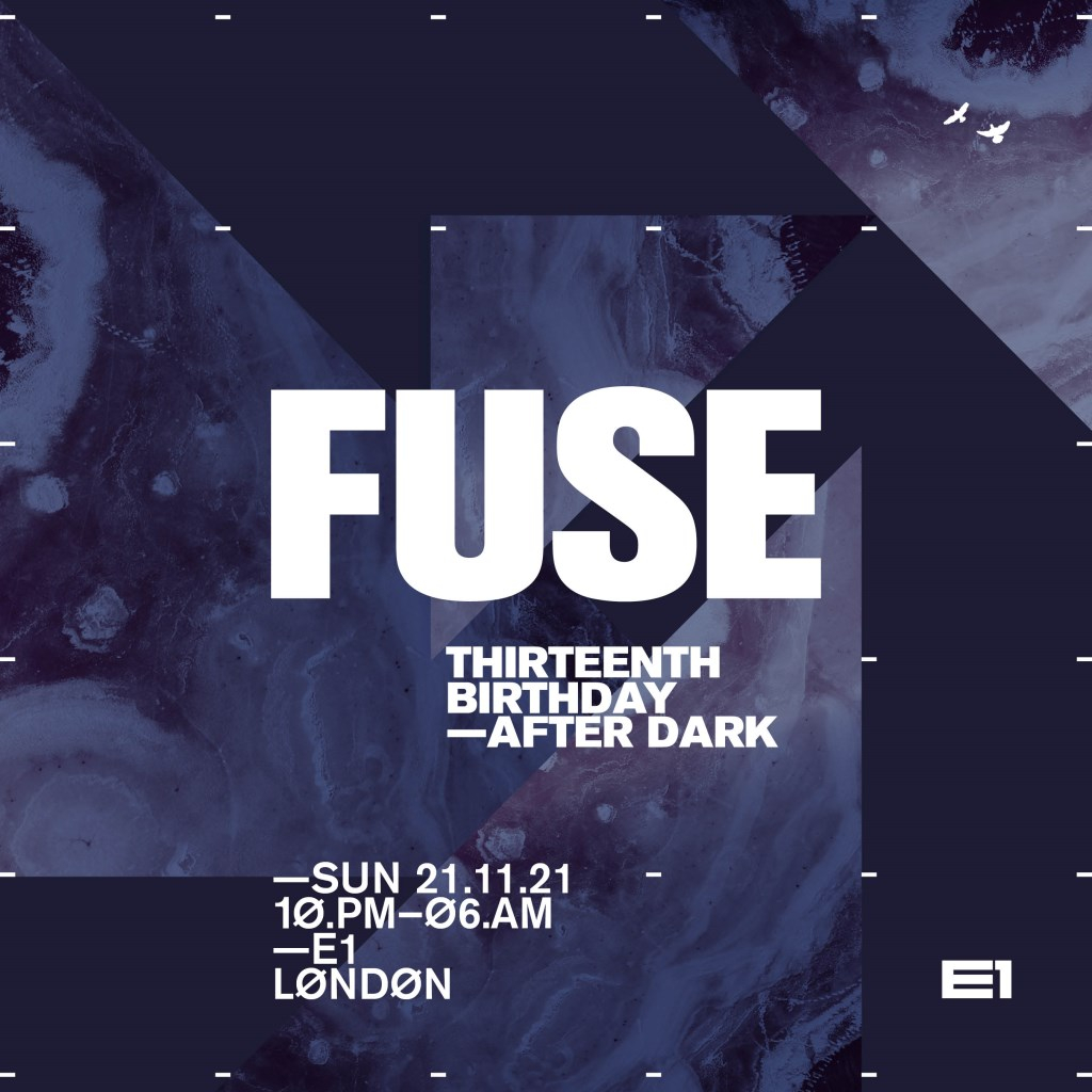 FUSE: 13th Birthday (After Dark) - Flyer front