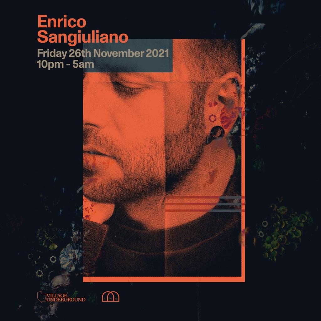 LWE presents Enrico Sangiuliano - Flyer front