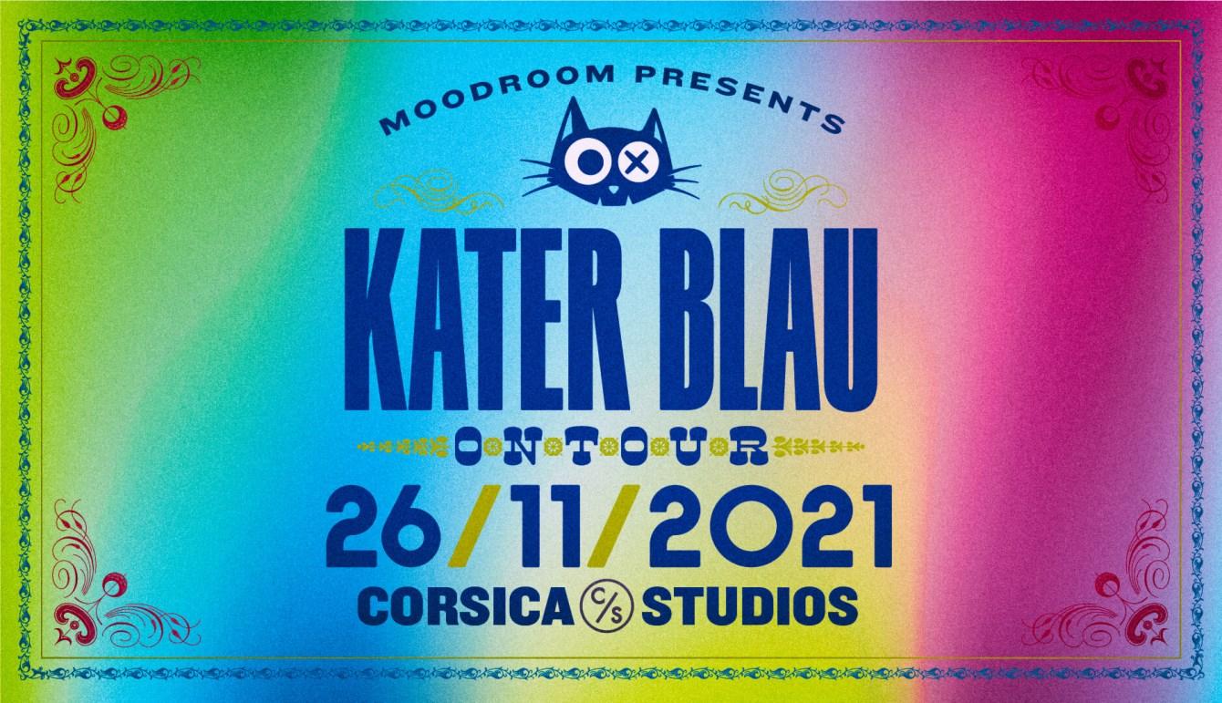 Moodroom x Kater Blau: Mira b2b Chris Schwarzwälder (4 hrs), Britta Arnold, David Dorad - Flyer front