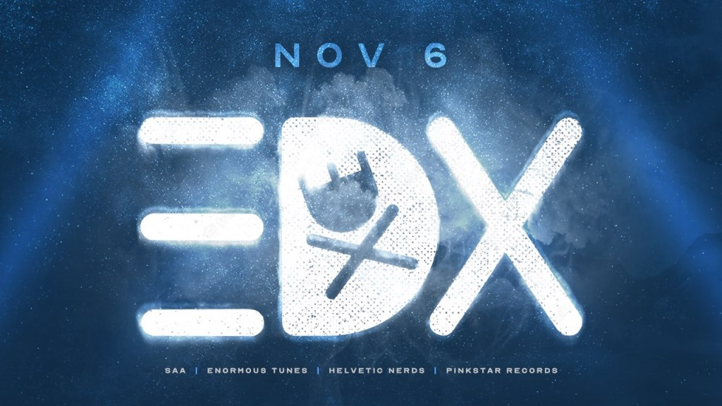 EDX at Gold Room Chicago - Flyer front