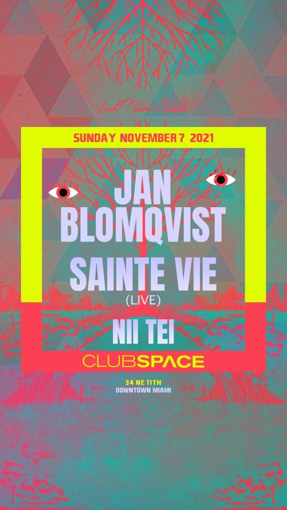 Jan Blomqvist & Sainte Vie by Link Miami Rebels - Flyer front