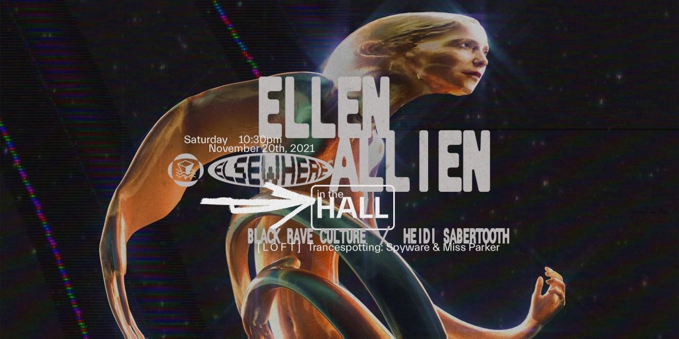 Ellen Allien - Flyer front