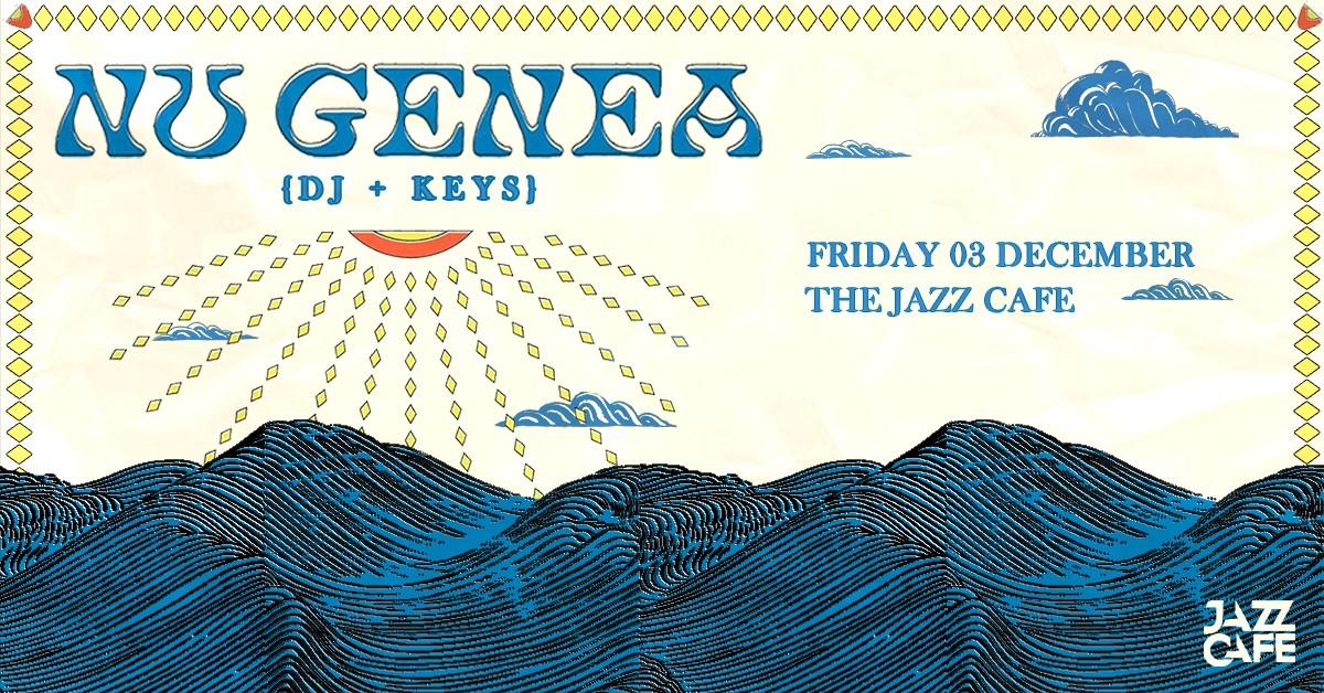 Nu Genea (DJ + Keys) - Flyer front