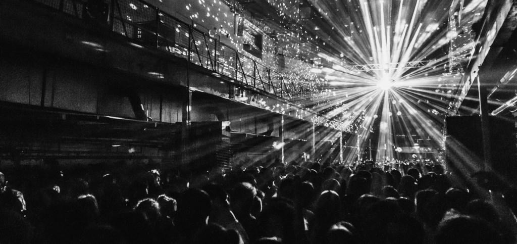 Lane 8 - Brightest Lights Tour - Flyer front