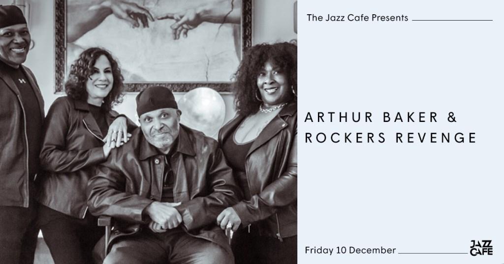 Arthur Baker & Rockers Revenge - Flyer front