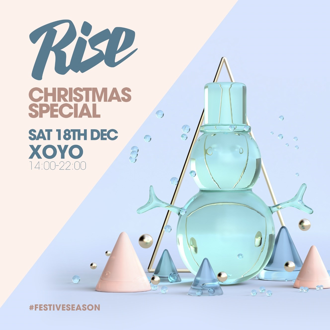 Rise: Christmas Special - Flyer front