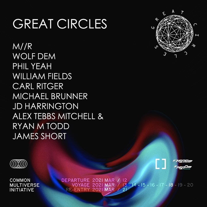 Grcr x Common Multiverse Initiative - Flyer front