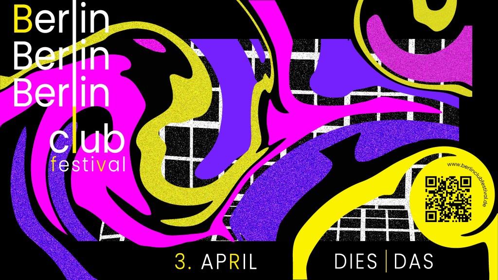 Berlin Club Festival - Flyer front