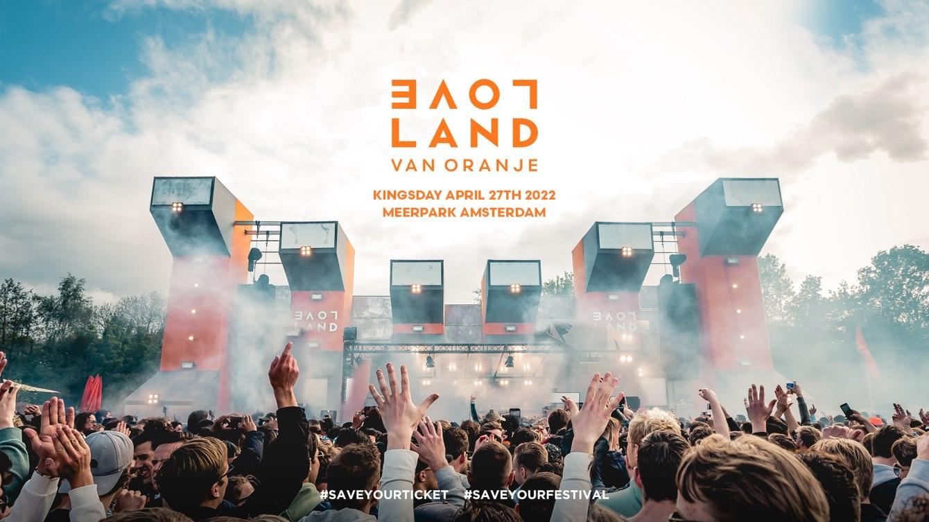 Loveland van Oranje 2022 l Sold Out - Flyer front