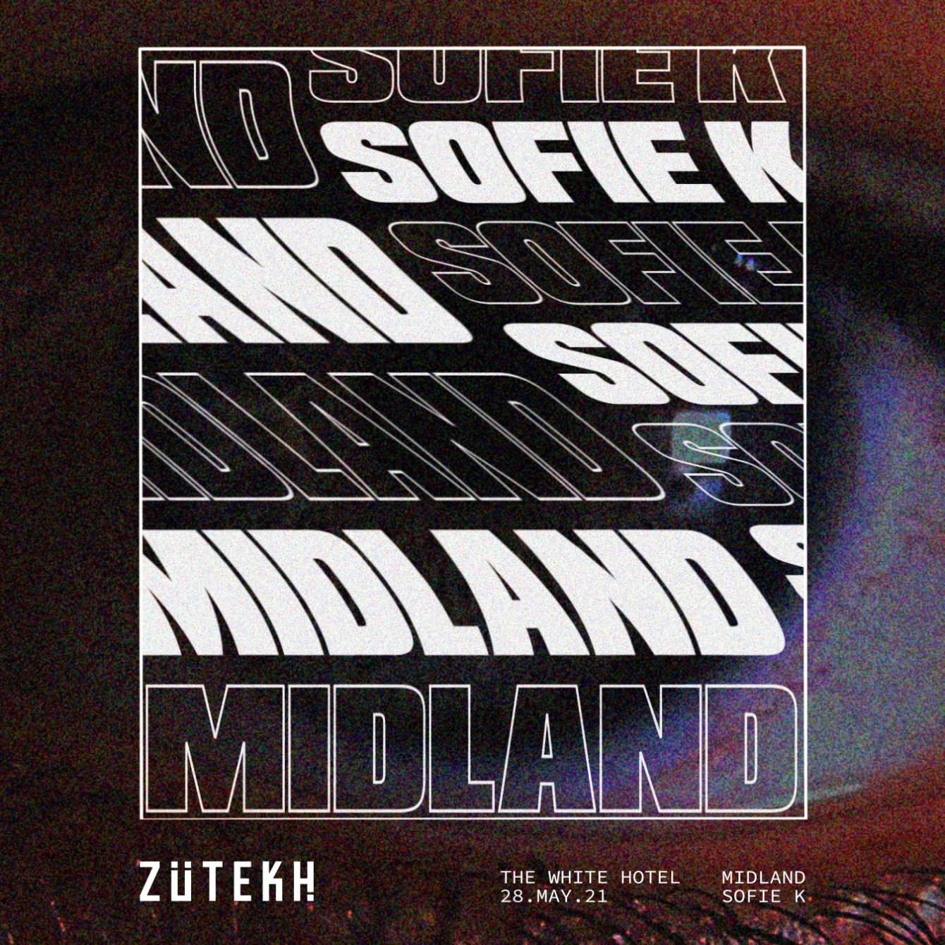Zutekh presents Midland - Flyer front