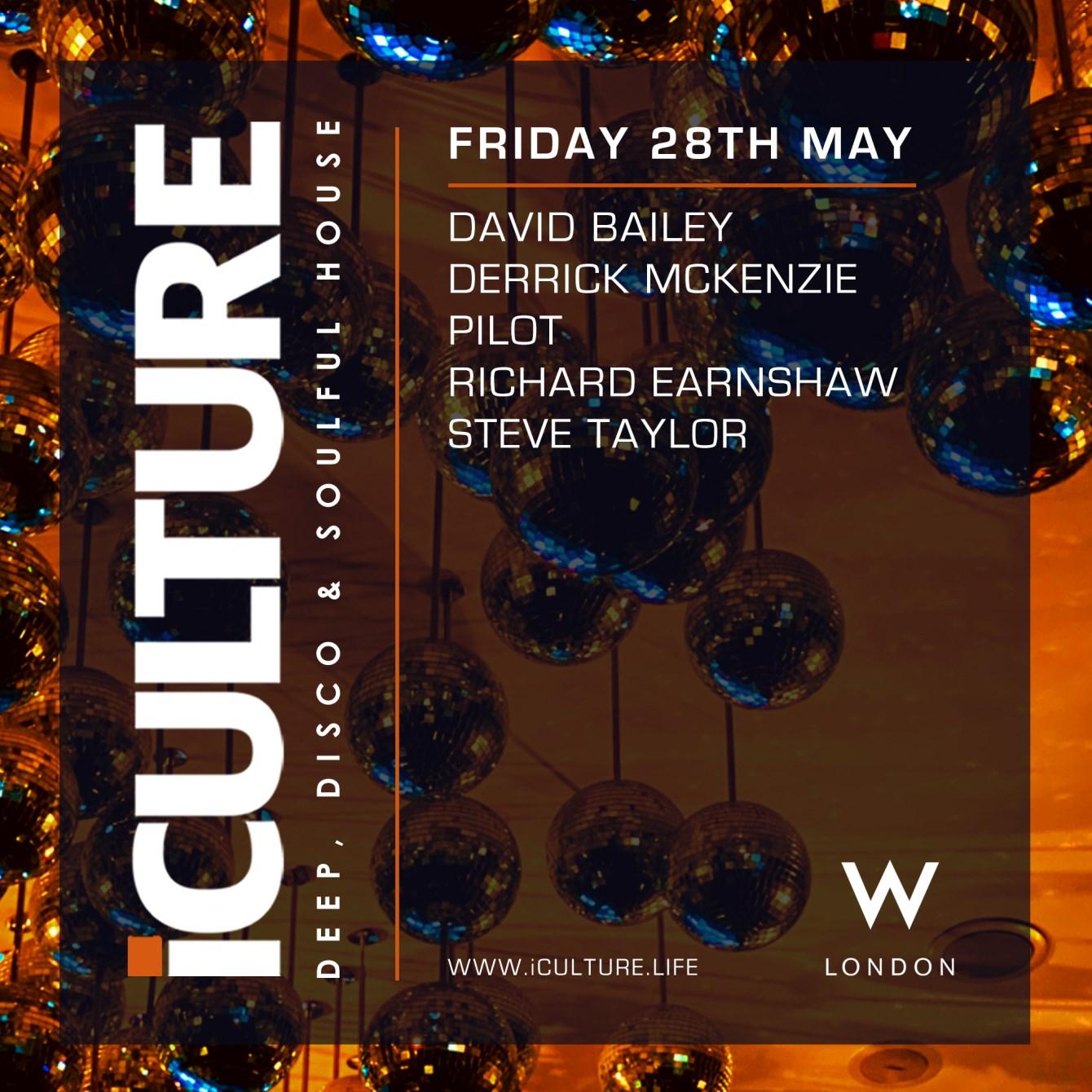Iculture London - Flyer back