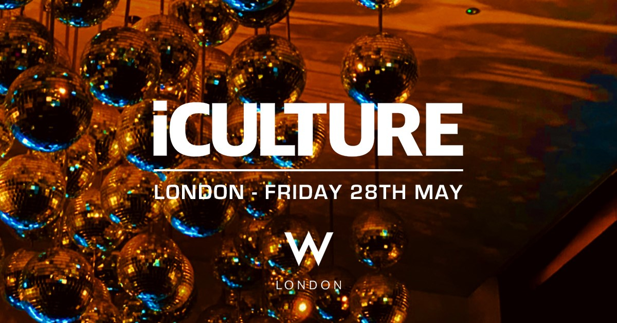 Iculture London - Flyer front