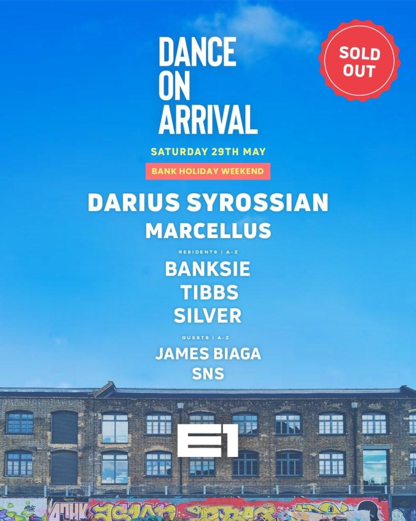 Danceonarrival The Return: Part 2 - Flyer front