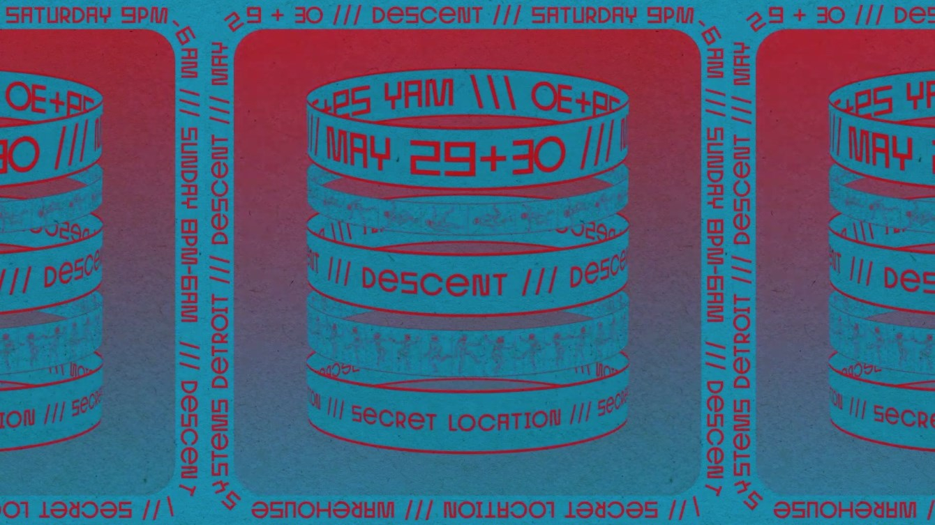 Warehouse Systems - Descent Night 2 - Flyer front
