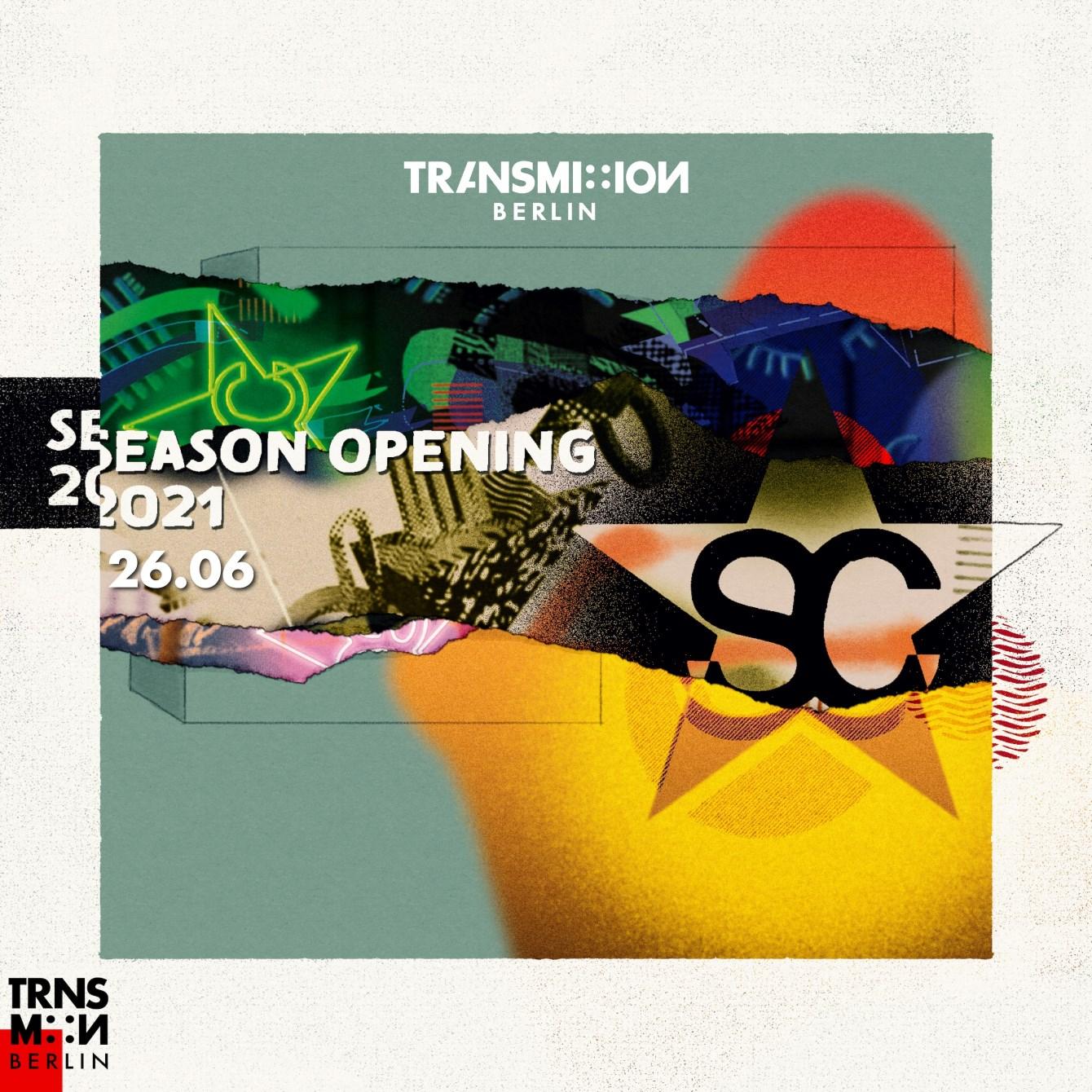 Suicide Club - Season Opening 2021 by Trnsm:n Berlin - Flyer front
