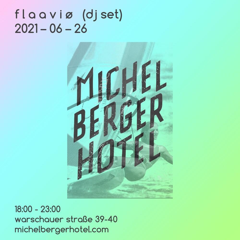 Flaaviø (dj set) - Flyer back