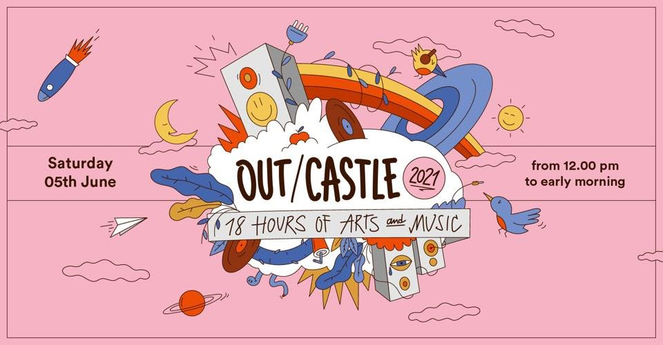 Evento Annullato - Out/Castle 2021 - Flyer front