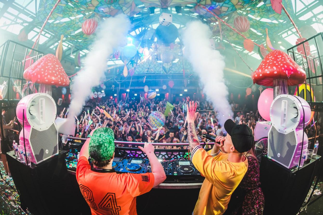 Foreverland London ∙ Neon Jungle Rave - Flyer front