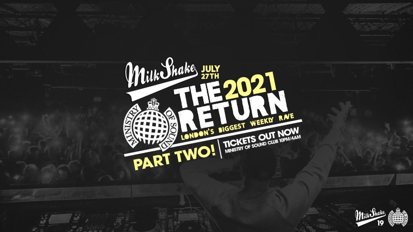 Milkshake - The Official Return, Part 2 - Flyer front