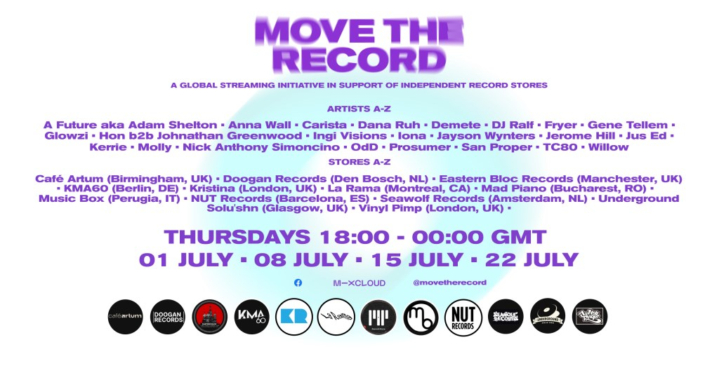 Move the Record - Edition #2 - Flyer front