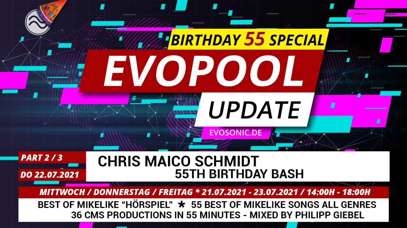 Evosonic Evopool Update 55 - Flyer front