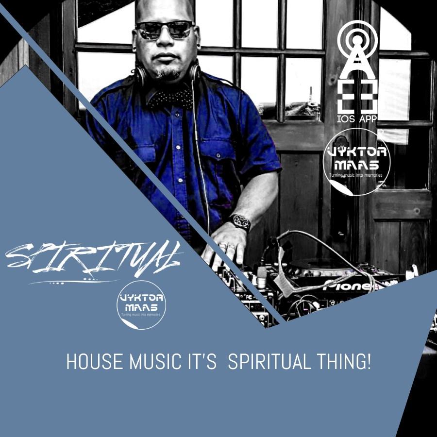 Spiritual Radio Show - Flyer front