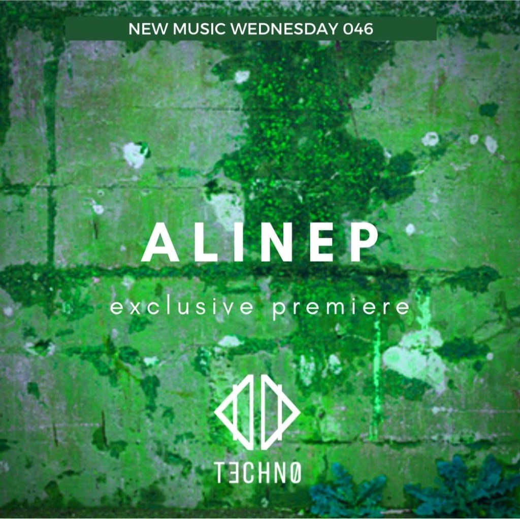 DI Techno presents: New Music Wednesday - 046 - Alinep - Flyer back