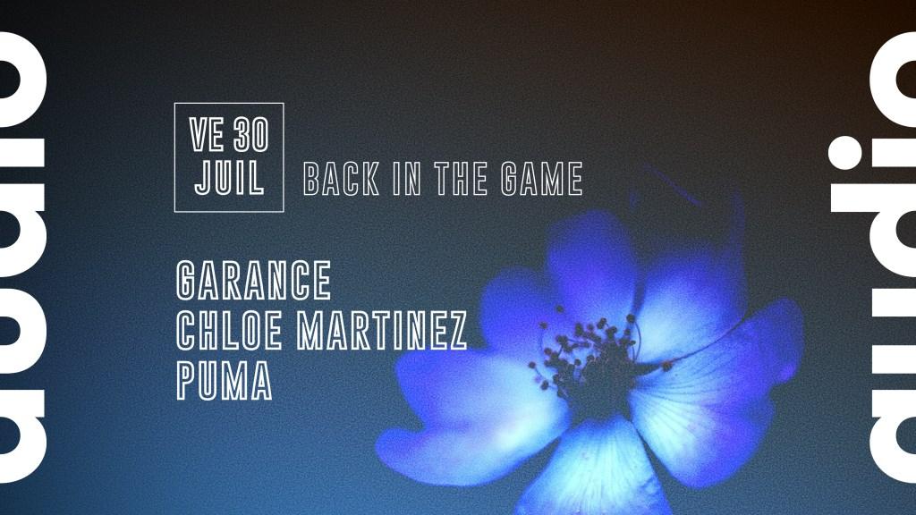 Garance - Chloé Martinez - Puma - Flyer front