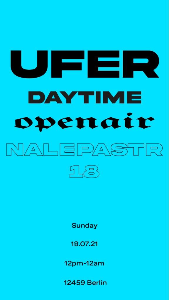Ufer Daytime Open Air - Flyer back