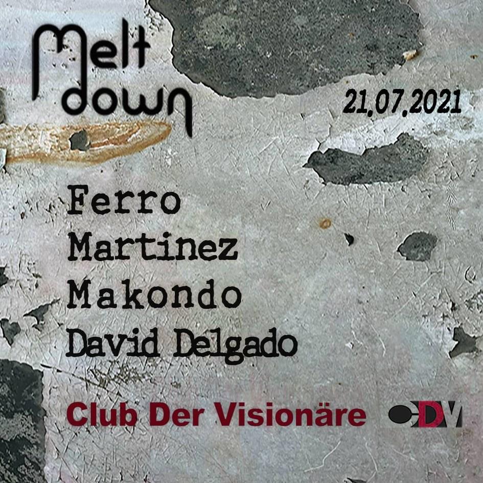 Meltdown - Flyer front
