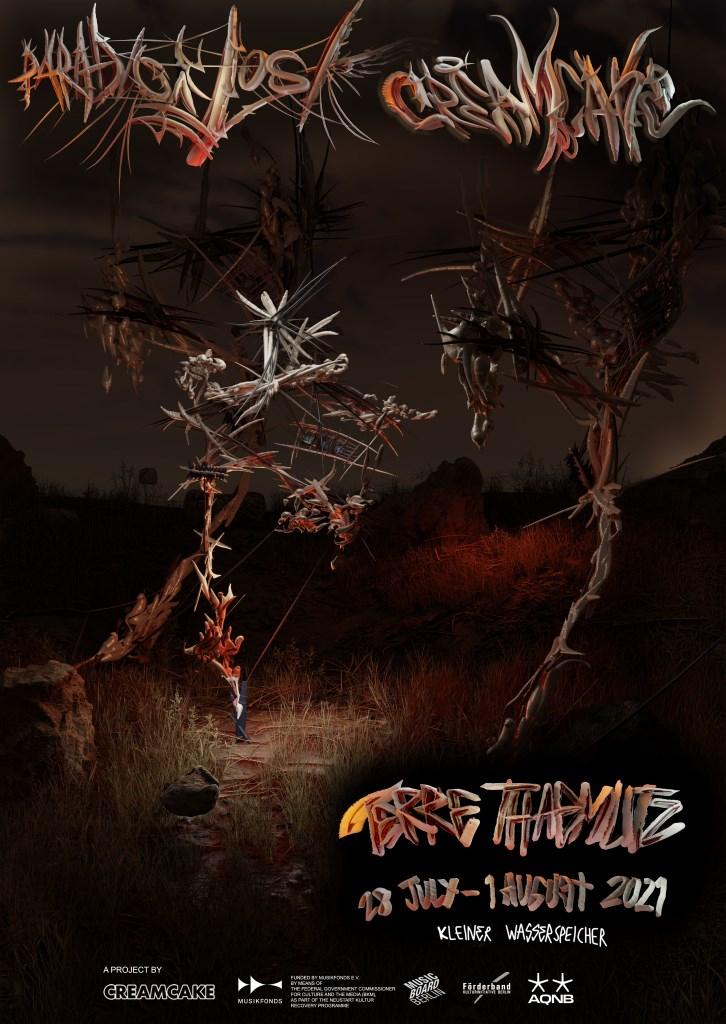 Paradise Lost: Terre Thaemlitz - Flyer front