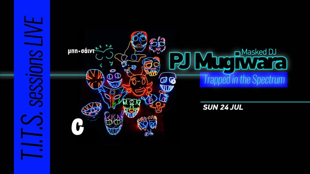 PJ Mugiwara at Μπη-Σάιντ - Flyer front