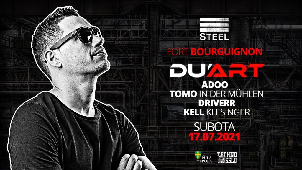 DJ Du'art - Flyer front
