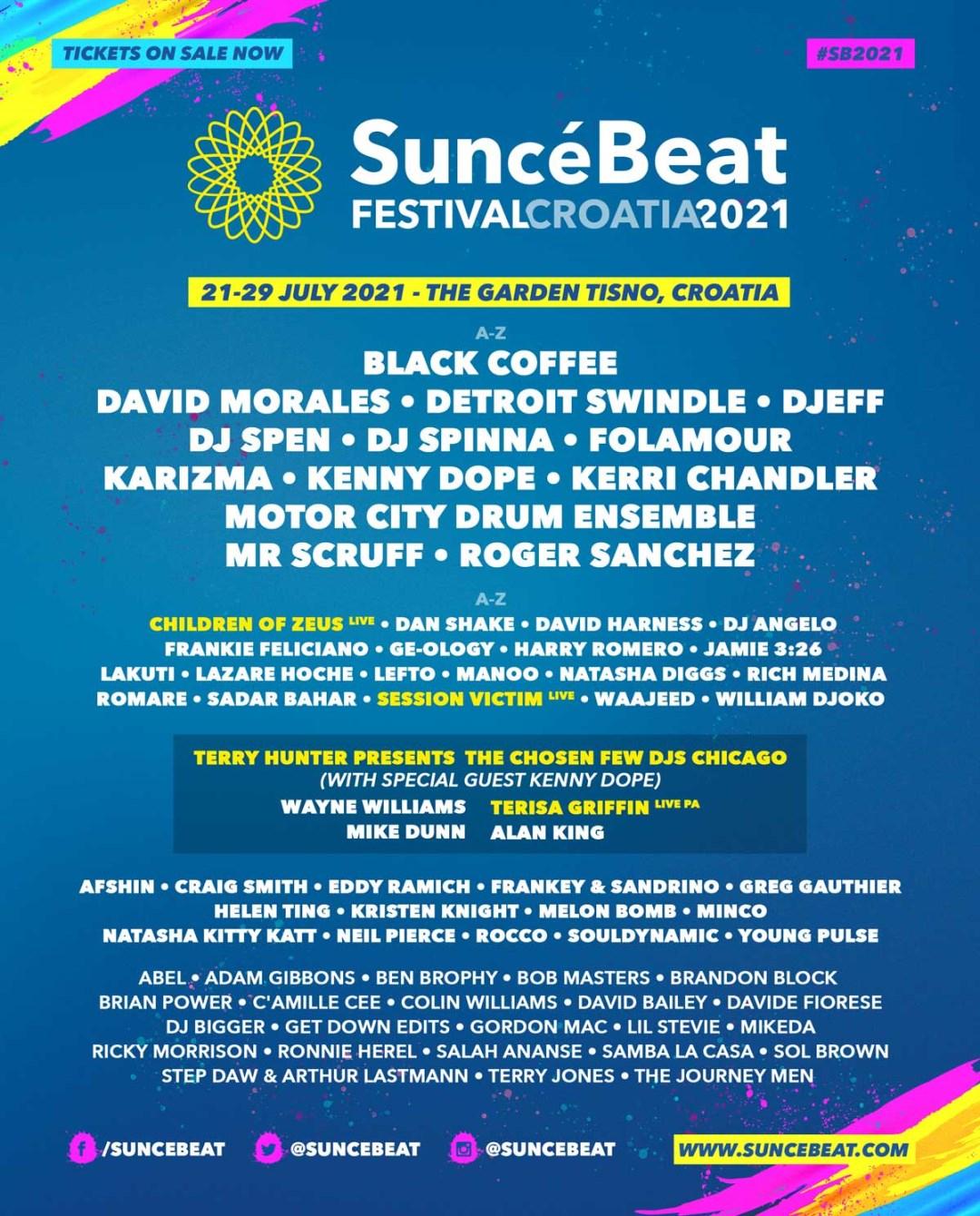 Suncébeat Festival - Flyer front